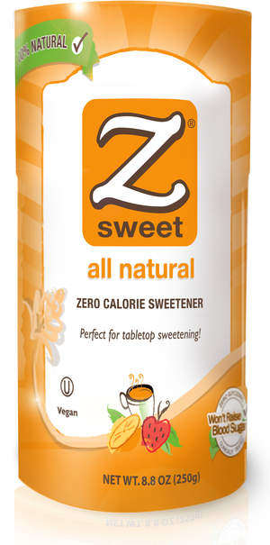 ZSweet® all natural 8.8 oz. tabletop canister