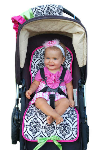 Couture Micro-safe Stroller Liner & Matching Blanket