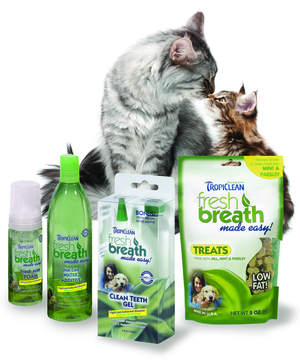 TropiClean Fresh Breath Made Easy is