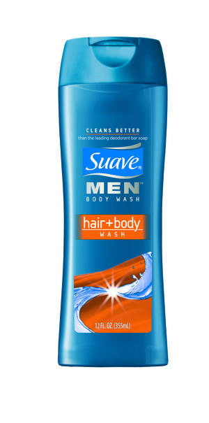 Suave Men Hair + Body Wash