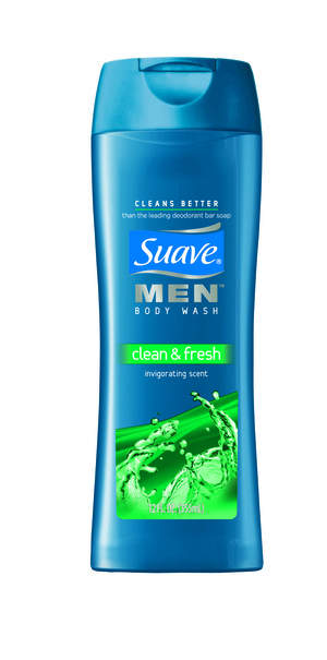 Suave Men Clean + Fresh Body Wash
