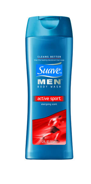 Suave Men Active Sport Body Wash