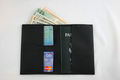 The World's Thinnest Travel Wallet
