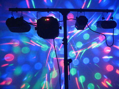 Techno Storm Party Lights