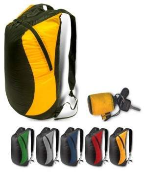 Great as a summit pack, carrying groceries when on foot or on a bike or as an extra traveling tote. The tiny packed size fits easily onto your key ring, in a jacket pocket or a purse