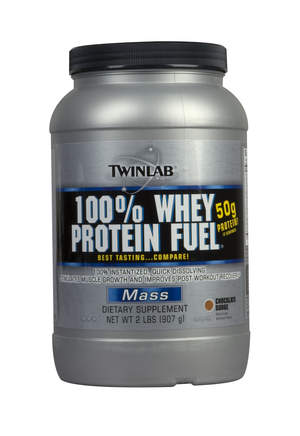 Twinlab® 100% Whey Protein Fuel® 2lb, Chocolate Surge