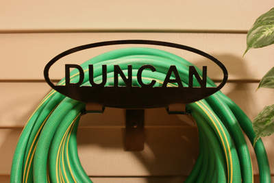 Personalized Garden Hose Holder