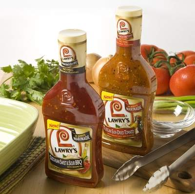 Lawry's New Marinades, Szechuan Sweet & Sour BBQ and Tuscan Sun-Dried Tomato