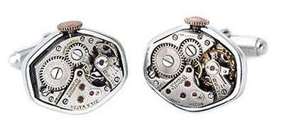 Vintage Watch Movement Cuff Links