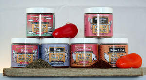 The Six Varieties of Dry Rubs offered by El's Kitchen