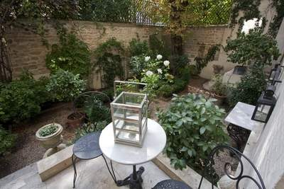 Gorgeous Private Garden in the Heart of Paris