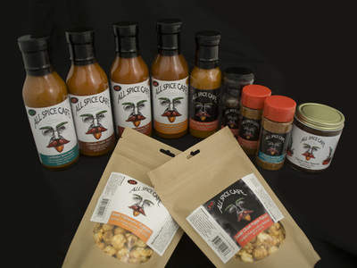 The All Spice Cafe Family of Fiery Products