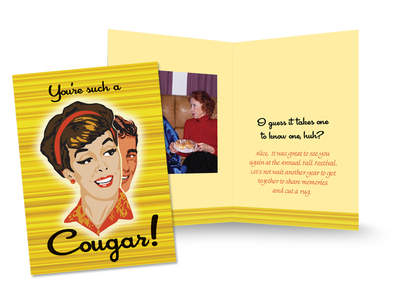 One example of a fun card celebrating a