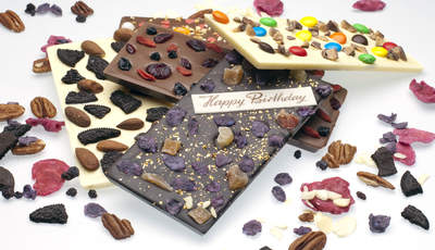 Custom Chocolate Bars from Chocomize.com