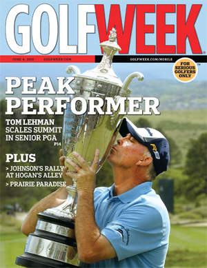 June 4 Cover of Golfweek Magazine
