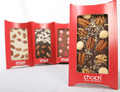 chocri Customized Chocolate Bars