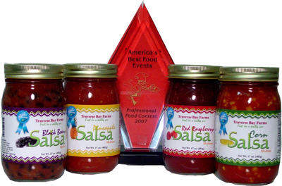 Traverse Bay Farms Award Winning Salsa
