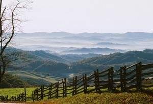 Virginia State Parks feature breathtaking vistas like this one from Grayson Highlands State Park