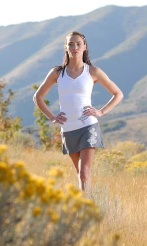 Firefly Pose Running Skirt
