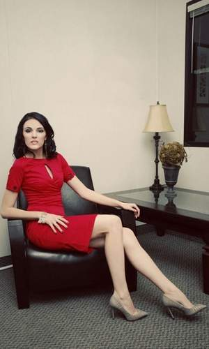 Sexy Red Shabby Apple Sheath Dress