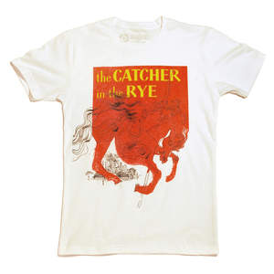 the Catcher in the Rye: the iconic first edition dust jacket by Michael Mitchell for a J. D. Salinger classic