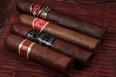 A few of the many cigars offered by 2nd Street Cigars