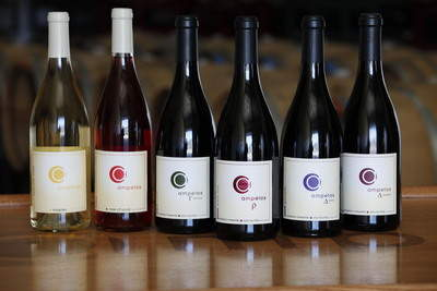 selection of ampelos wines