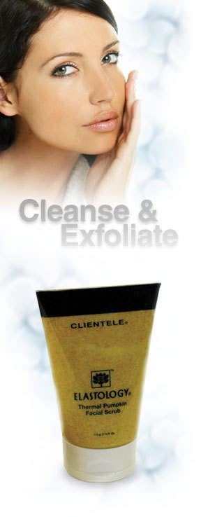 CLIENTELE Elastology Thermal Pumpkin Scrub for beautiful skin!