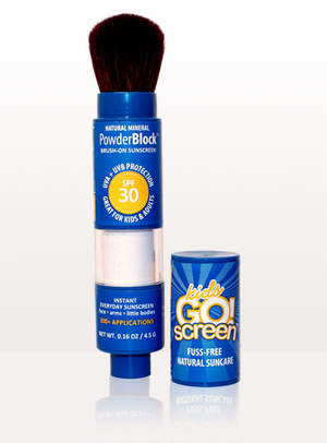 Brush-On Mineral Sunscreen Powder