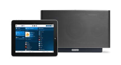 Black S5 Music System with iPad app