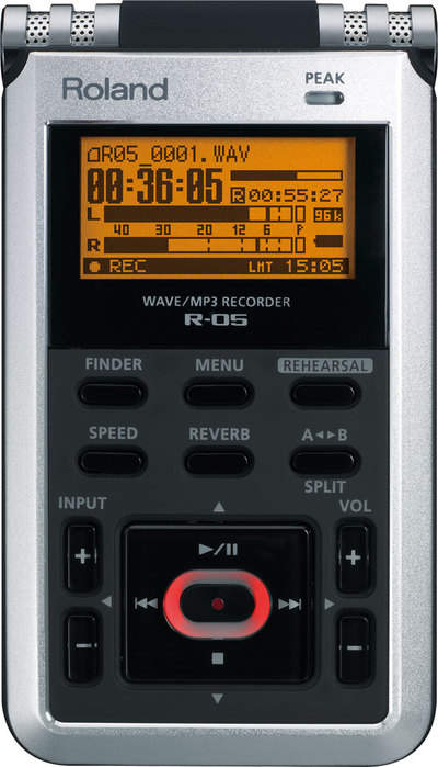 R-05 WAVE/MP3 Recorder