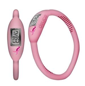Deuce Brand Pink Ribbon Watch for Breast Cancer Awareness