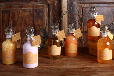 Mystic Amber by Spring, Shower Gel, Body Cream, Body Scrub, Body Butter, Milk Soap, Exfoliating Soap, pampering bath
