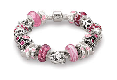 Chamilia Breast Cancer Awareness inspired bracelet, $898.00