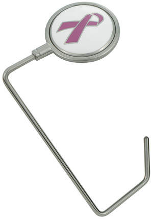Hot Hang-Ups Breast Cancer Awareness Purse Hanger