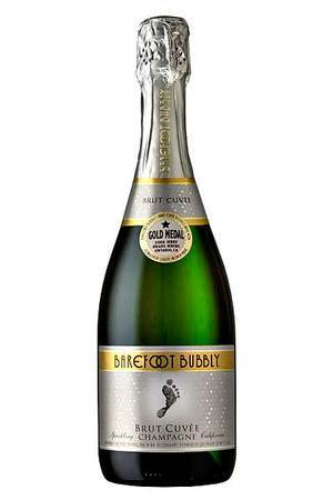 Barefoot Bubbly's classic Brut Cuvee