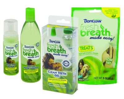 TropiClean Fresh Breath Made Easy