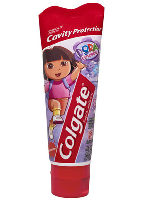 Dora the Explorer Anti-Cavity Fluoride Toothpaste