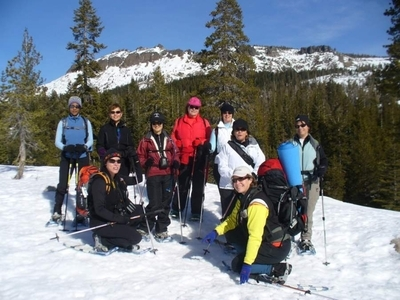 Snowshoeing with REI Outdoor School