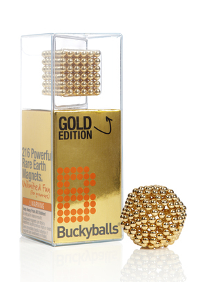 Buckyballs in Gold