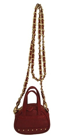 Olivia + Joy Tiny Satchel in Red