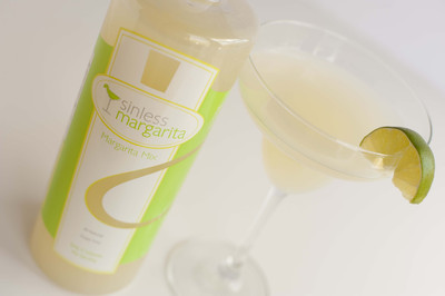 Sinless Margarita Mix is All Natural, Sugar Free & has Only 5 Calories per Serving! It is naturally sweetened with Stevia.
