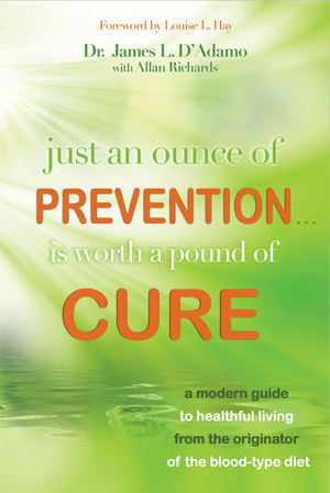 Book: Just an Ounce of Prevention is Worth a Pound of Cure