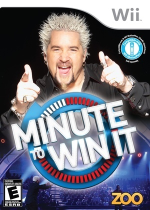 'Minute to Win it' on Nintendo Wii/DS
