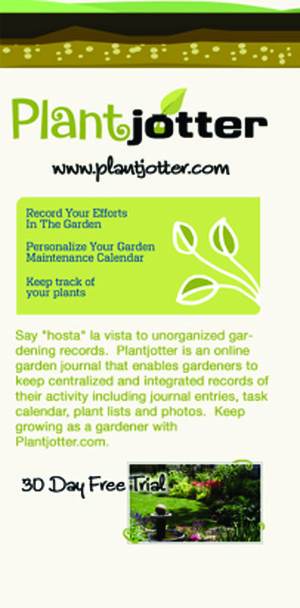 Plantjotter.com Every Gardener's Dream Assistant