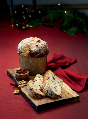 Cranberry Walnut Panettone