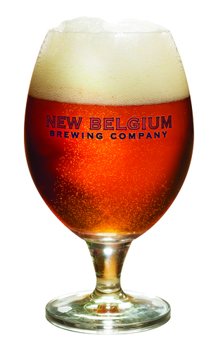 New Belgium Brewing Glassware