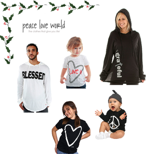 Some Holiday Options from Peace Love World