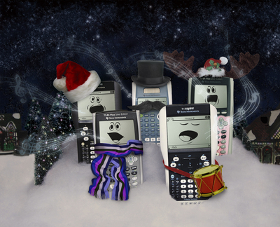 Texas Instruments spreads holiday cheer through its products.