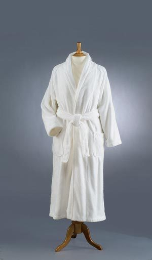 The Genuine Turkish Bathrobe from Hammacher Schlemmer